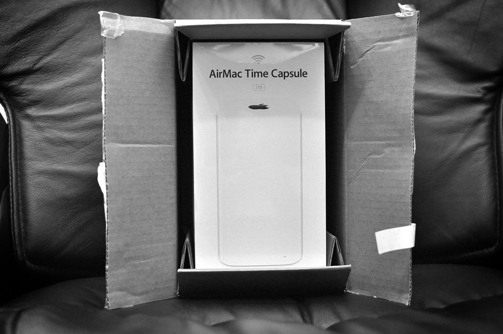 AirMac Time Capsule (Part.1) -購入編-