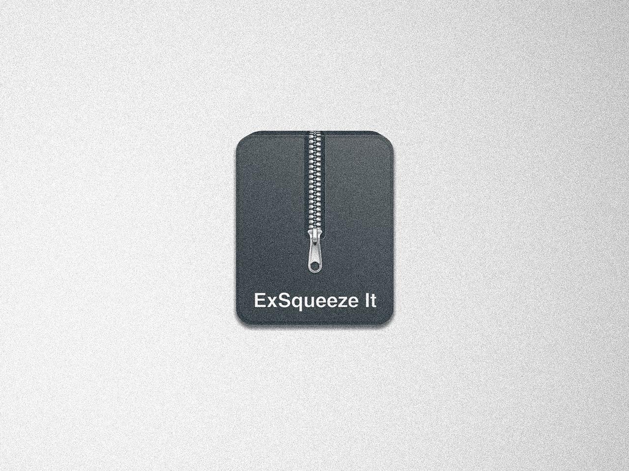 【おすすめMacアプリ】ExSqueeze it