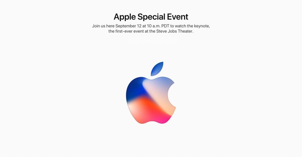 Apple Events September 2017