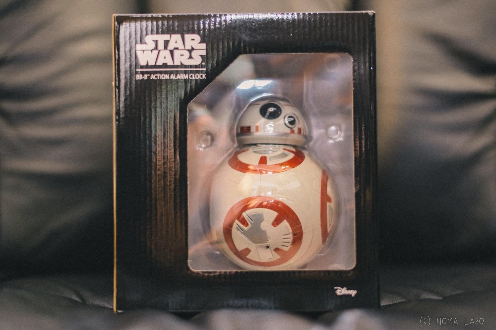 【 BB-8 アクションアラームクロック 】BB-8の目覚まし時計が最高だった。勿論、しゃべりますよ。