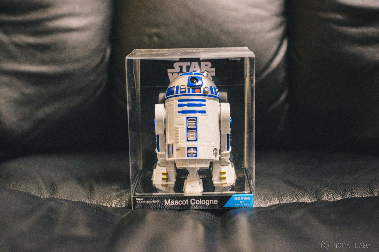 【 R2-D2 フィギュア型消臭剤 】R2-D2 は消臭もしてくれる。