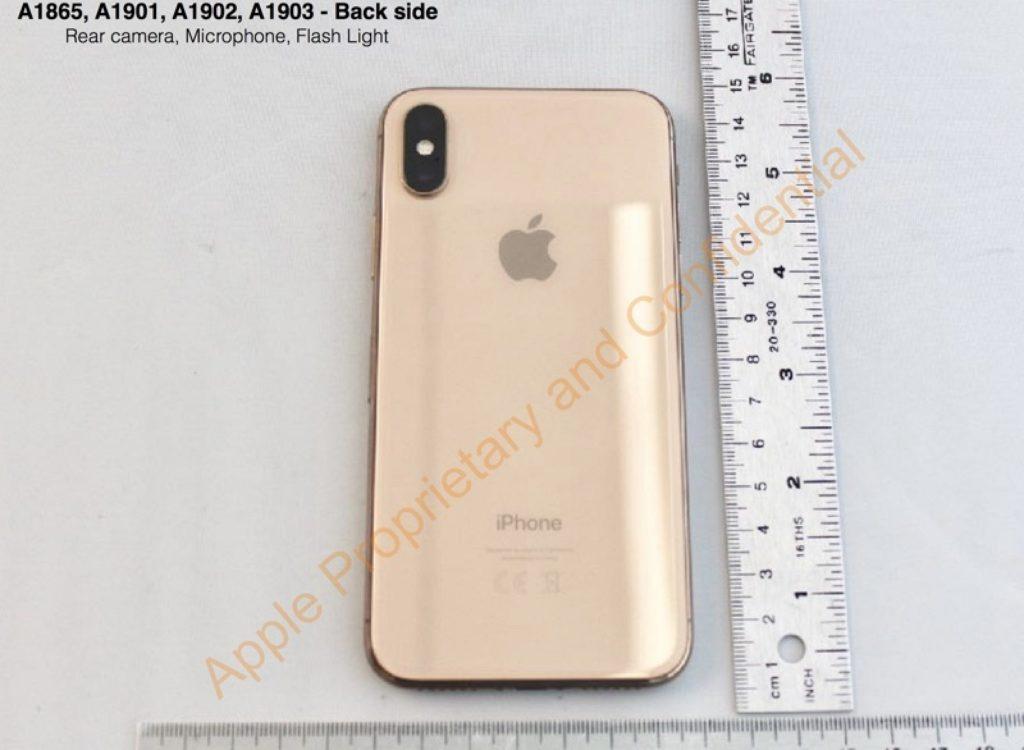 iPhoneX ゴールド