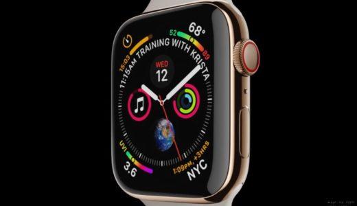 正式発表!! Apple Watch Series 4 !!